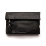 lily leather clutch from stitch and hide
