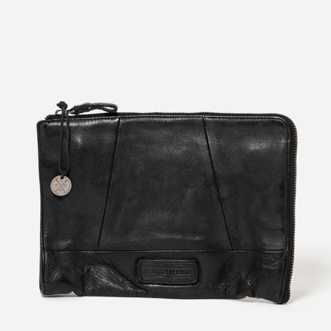 malibu leather clutch from stitch and hide