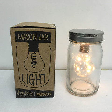 battery powered mason jar