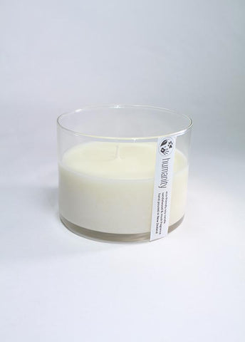 medium humanity soy candle - coconut lime