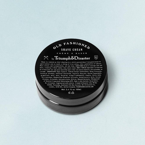 Shave Cream Jar 100ml by Triumph & Disaster