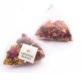 organic tea - runaway rose tea temples