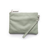 cassie leather clutch from stitch and hide