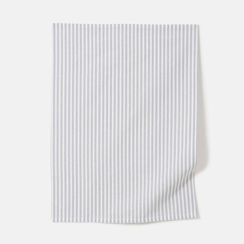 classic stripe cotton tea towel
