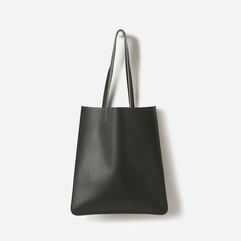 leather nori tote