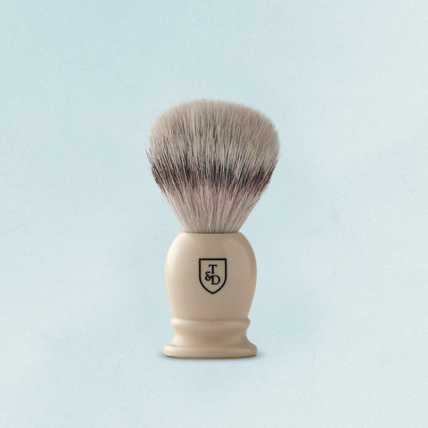 silvertip fibre shave brush by Triumph & Disaster
