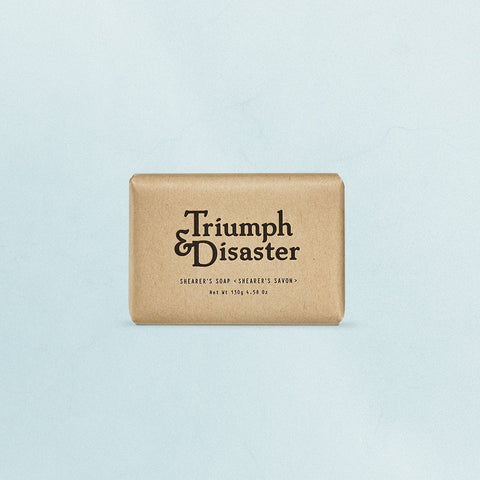 Shearers Soap from Triumph & Disaster