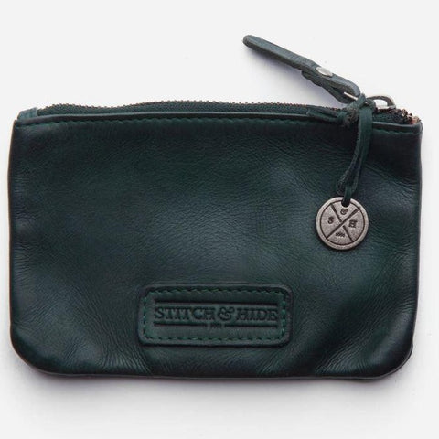 shelly leather pouch from stitch and hide