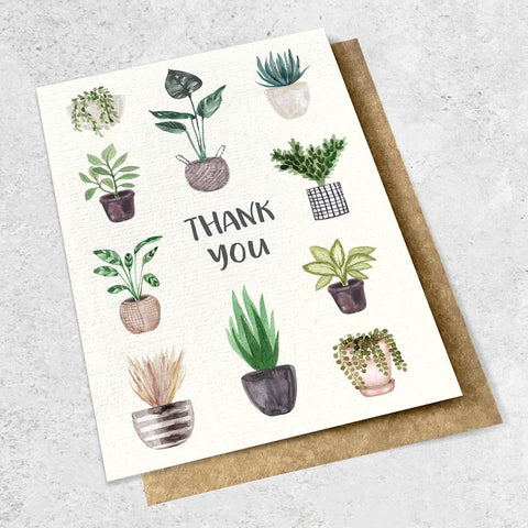 thank you - plants