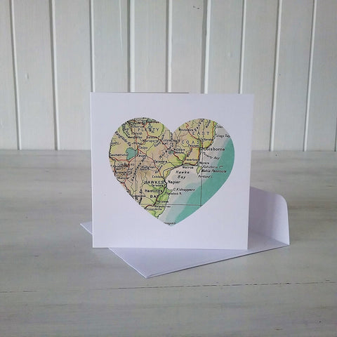wairoa map heart card