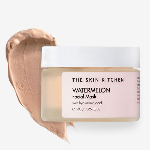 watermelon plumping mask from The Skin Kitchen