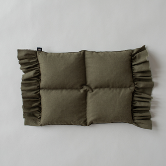 frills wheat bag - khaki