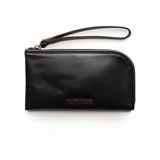 zoe leather clutch from stitch and hide