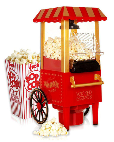Retro Carnival Cart Themed Popcorn Maker
