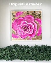 Golden Rose Special Edition Canvas Prints