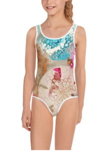 Shellabrating - All-Over Print Kids Swimsuit