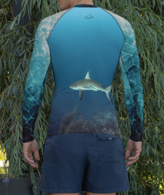 Totally Jaw-some - Men's Rash Guard