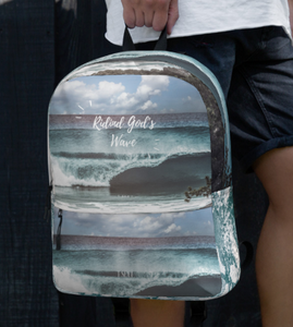 Riding God's wave - Backpack