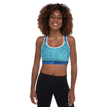 Brain Coral Padded Sports / Underwater Bra