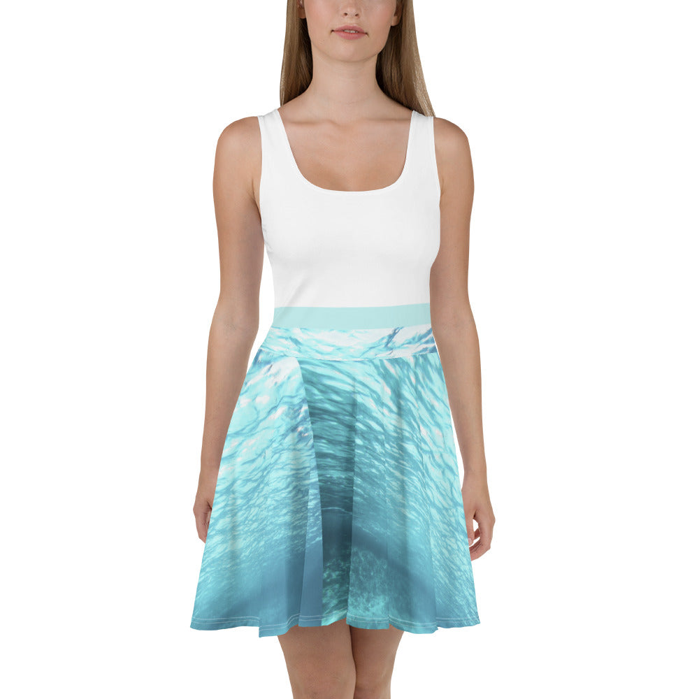 Submerged flowy Dress