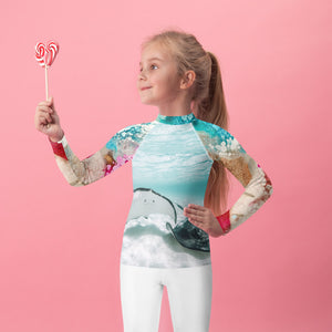 Shellabrating - Kids Rash Guard