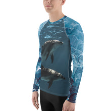 Dolphintastic Men's Rash Guard