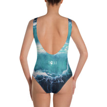 Seacret from the deep blue - One-Piece Swimsuit