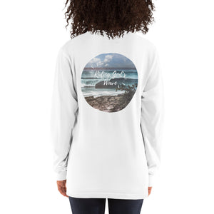 Riding Gods Wave - Long sleeve t-shirt