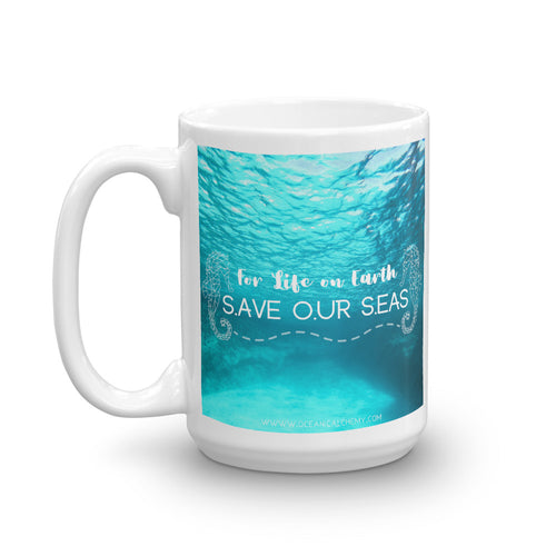 For Life on Earth Mug