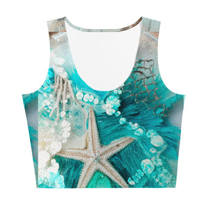 Sea Star - Sublimation Cut & Sew Crop Top