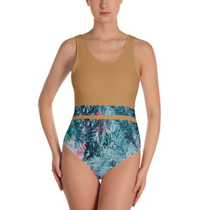 Coral garden - One-Piece Swimsuit