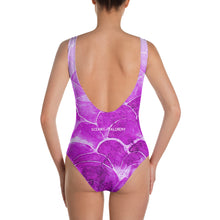 Pink Fish scale One-Piece Swimsuit