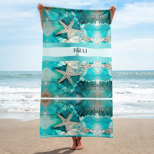 Sea-Star Beach Towel