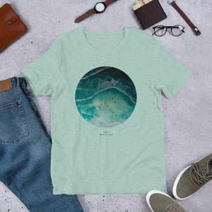 Ocean's whisper - Eco Friendly Short-Sleeve Unisex T-Shirt