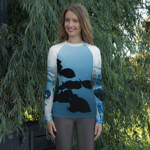 Sophifish'ticated - Women's Rash Guard