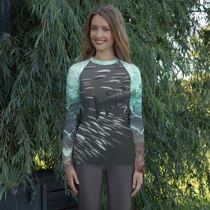Baracuda - Turquoise - Women's Rash Guard