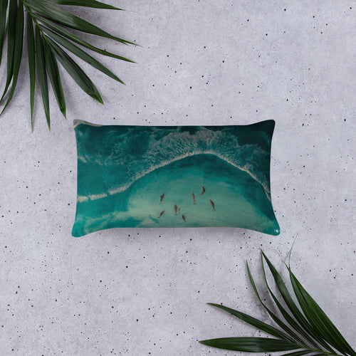Seacret from the deep blue - Basic Pillow
