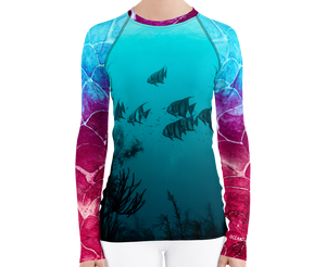 Under the Sea Women's Rash Guard
