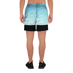 Submerged - Men's Athletic Long Shorts