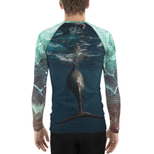 Free as the Sea - Men's Rash Guard
