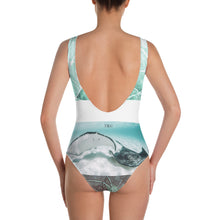 Ray-diant - Fish Scale One-Piece Swimsuit