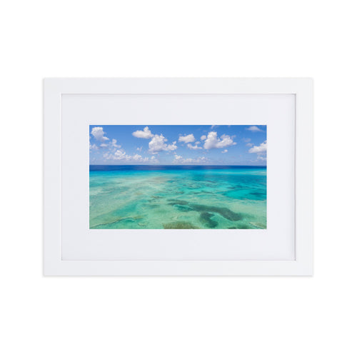Grand-Turk magnificence - Matte Paper Framed Poster With Mat