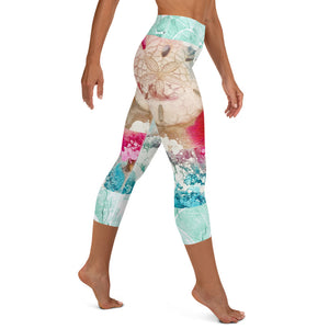 Shell'abrating - underwater Capri Leggings