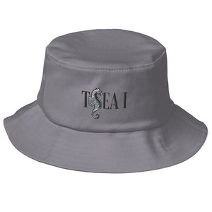 T SEA I - Old School Bucket Hat