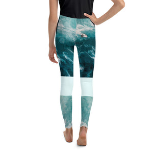 Surfin the Wave - Youth Leggings
