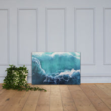 Seacret from the deep blue - 2 - Canvas