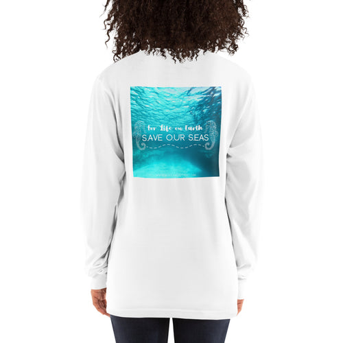 Unisex - For Life on Earth - Save our Seas - Long sleeve t-shirt
