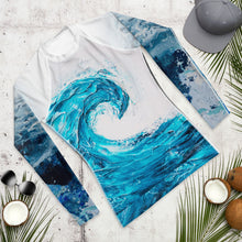 Making waves- Men's Rash Guard