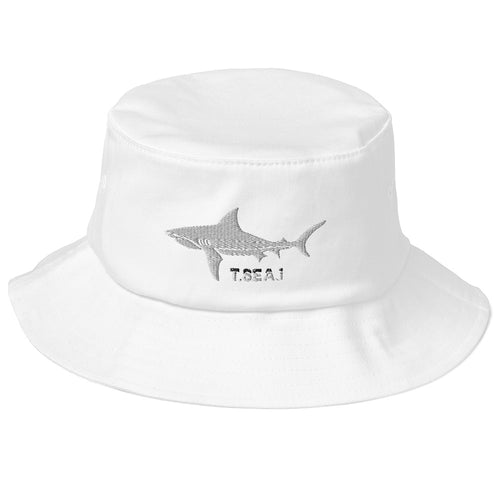 Reef Shark - Old School Bucket Hat
