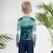 Surfin the wave - Kids Rash Guard